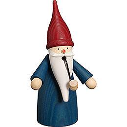Smoker - Traditional Gnome Blue - 16 cm / 6 inch