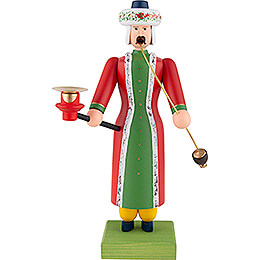 Smoker Turk with Candle Holder - 30 cm / 11.8 inch
