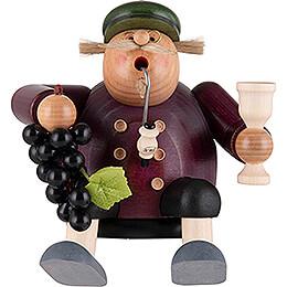 Smoker - Wine Grower - Shelf Sitter - 15 cm / 5.9 inch