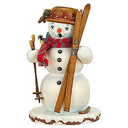 Smoker - Winterchild Snowman - 20 cm / 8 inch