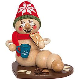 Smoker - Worm Christmas Market Rudi - 14 cm / 5.5 inch