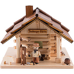 Smoking Hut - Freiberg Hut with LED - 12,5 cm / 5 inch