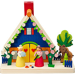 Smoking Hut - Snow White and Rose Red - 11 cm / 4.3 inch