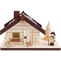 Smoking Hut - Woodsman - 11 cm / 4.3 inch