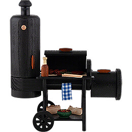 Smoking Stove - Barbecue-Smoker - 21 cm / 8.3 inch
