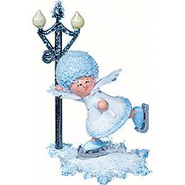 Snowflake Figure Skater - 5 cm / 2 inch