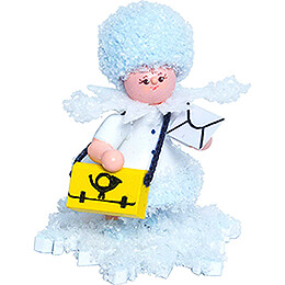 Snowflake Mail Carrier - 5 cm / 2 inch