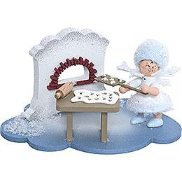 Snowflake in Christmas Bakery - 10x7x6 cm / 4x2.8x2.3 inch