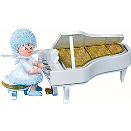Snowflake on the Piano - 5 cm / 2 inch