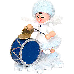 Snowflake with Bass Drum - 5 cm / 2 inch