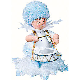 Snowflake with Drums - 5 cm / 2 inch