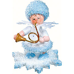 Snowflake with Horn - 5 cm / 2 inch