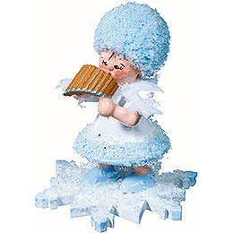 Snowflake with Panpipe - 5 cm / 2 inch