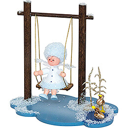 Snowflake with Swing - 8,5 cm / 3.3 inch