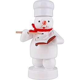 Snowman Baker with Recipe Book - 8 cm / 3.1 inch