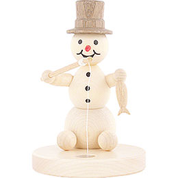 Snowman Ice Fisher - 8 cm / 3.1 inch
