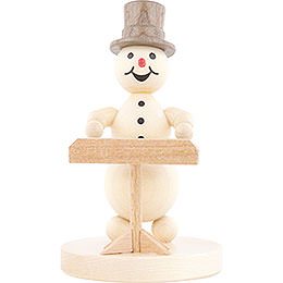 Snowman Musician Keyboard - 12 cm / 4.7 inch