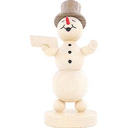 Snowman Musician Singer - 12 cm / 4.7 inch