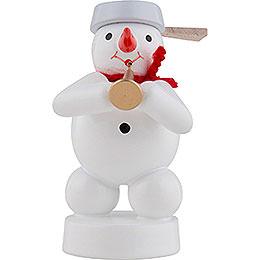 Snowman Musician with Tuba - 8 cm / 3 inch