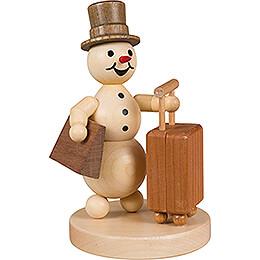 Snowman Traveller - 12 cm / 4.7 inch