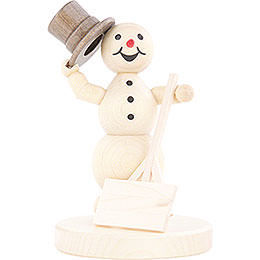 Snowman with Shovel - 12 cm / 4.7 inch