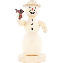 Snowwoman with Bird - 11 cm / 4.3 inch