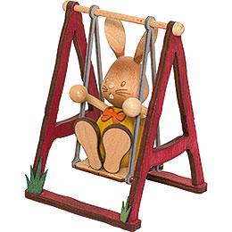 Snubby Bunny on Swing - 12 cm / 4.7 inch