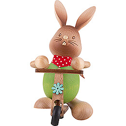 Snubby Bunny with Scooter - 12 cm / 4.7 inch