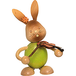 Snubby Bunny with Violin - 12 cm / 4.7 inch