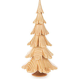 Solid Wood Tree - Natural - 15,5 cm / 6.1 inch