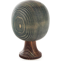 Solid Wood Tree - Round - Green - 16 cm / 6.3 inch