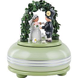 Spieldose Hochzeitsfest - 15 cm