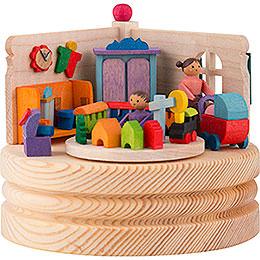 Spieldose Junge und Mädchen - 8,5 cm