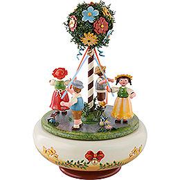 Spieldose Maientanz - 26 cm