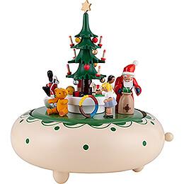 Spieldose Weihnachtsbescherung - 18 cm