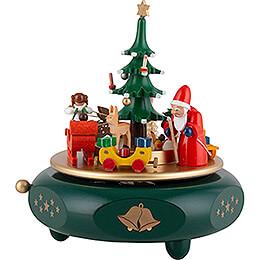 Spieldose Weihnachtsträume - 17 cm