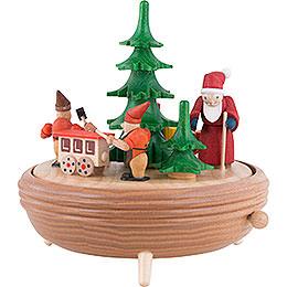 Spieldose Weihnachtswerkstatt - 18 cm