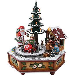 Spieldose Weihnachtszeit - 22 cm