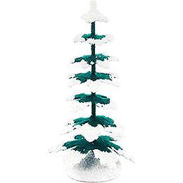 Spruce - Green-White - 9 cm / 3.5 inch
