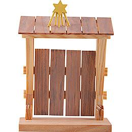 Stall zu Bethlehem - 8 cm