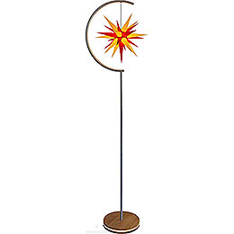 Star Lamp - Indoor use with I6 Yellow/Red - 236 cm / 93 inch