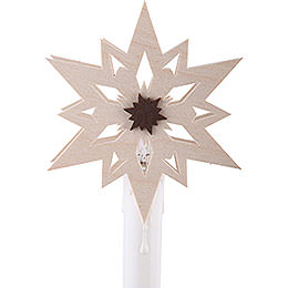 Stars (10 Pcs) Attachment for Candle Arch - Eletrical Candles - 8,5 cm / 3 inch