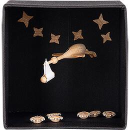 Storch in Schachtel - 5,4 cm