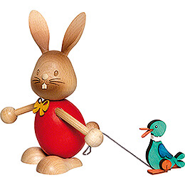 Stupsi Bunny with Duck - 12 cm / 4.7 inch