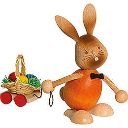 Stupsi Hase mit Eierwagen - 12 cm