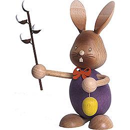 Stupsi Hase mit Weidenkätzchen - 12 cm