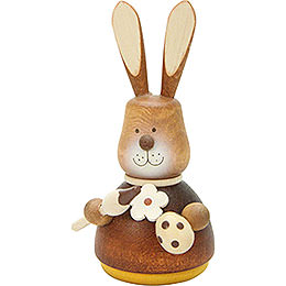 Teeter Bunny with Paint-Brush Natural - 9,8 cm / 3.9 inch