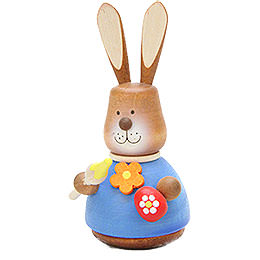 Teeter Bunny with Paintbrush - 9,8 cm / 3.9 inch