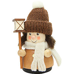 Teeter Figure Lantern Boy Natural - 9,5 cm / 3.7 inch