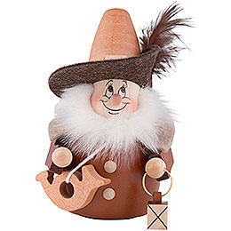 Teeter Gnome Night Watch Man Natural - 13 cm / 5.1nch